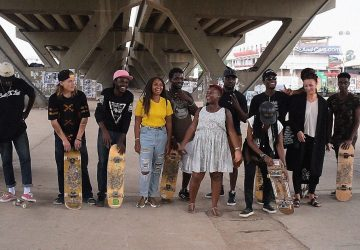 Members of Skate Nation GH