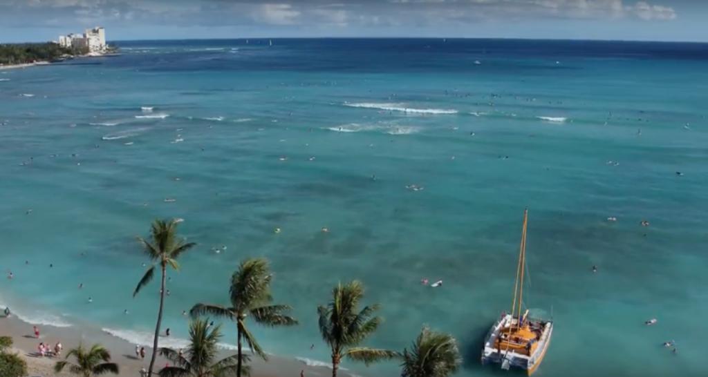 Waikiki Beach, Oahu, Hawaii, USA