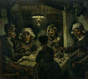 Vincent Van Gogh,The Potato Eaters, 1885