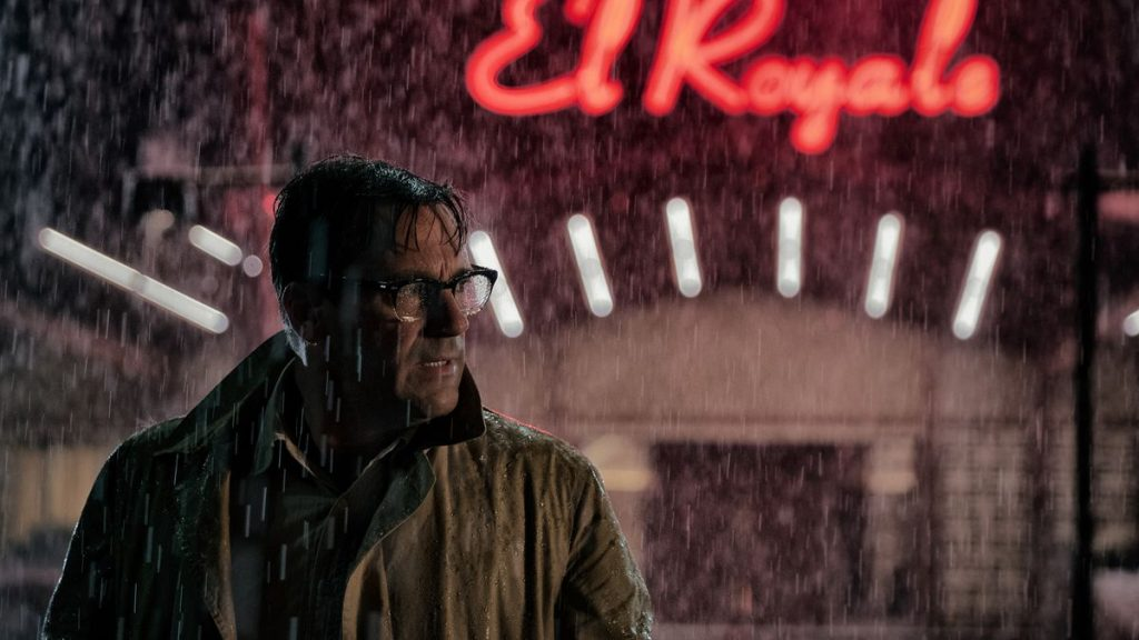 Jon Hamm as Laramie Seymour Sullivan / Dwight Broadbeck