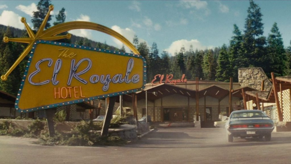 The exterior of the El Royale Hotel