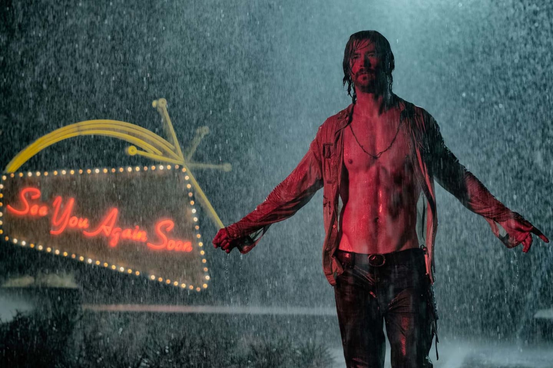 Chris Hemsworth as Billy Lee in Bad Times at the El Royale