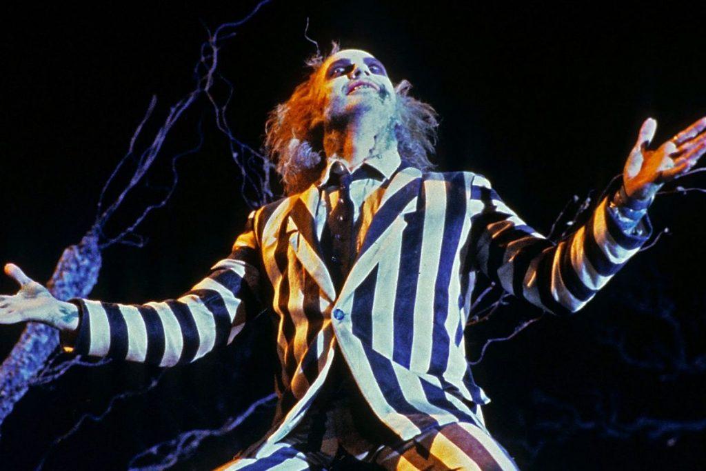 Michael Keaton as Beetlejuice, best Halloween movie