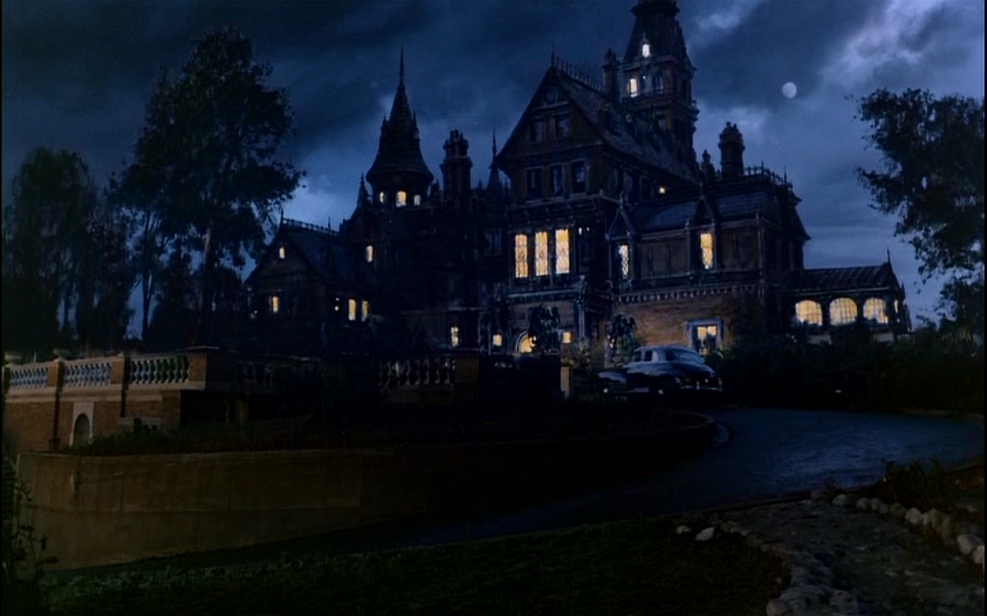 The mansion setting for the 1985 film, Clue