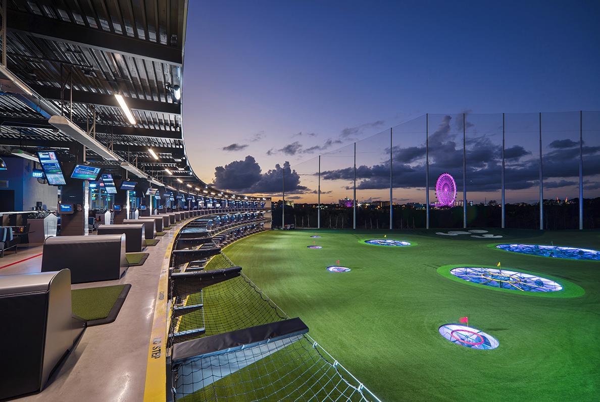 Topgolf course in Orlando