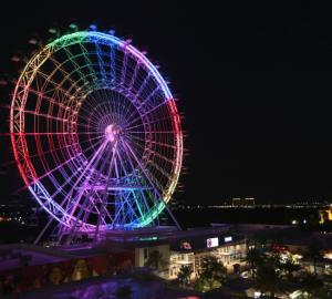 Eye of Orlando ferris wheel
