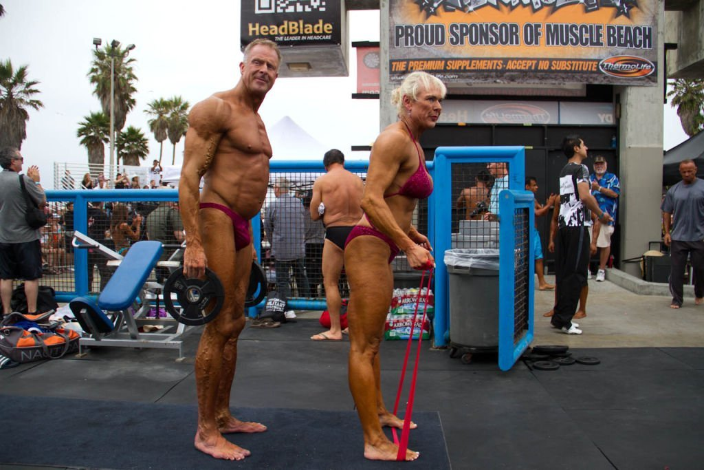 Mr. and Mrs. Muscle Beach