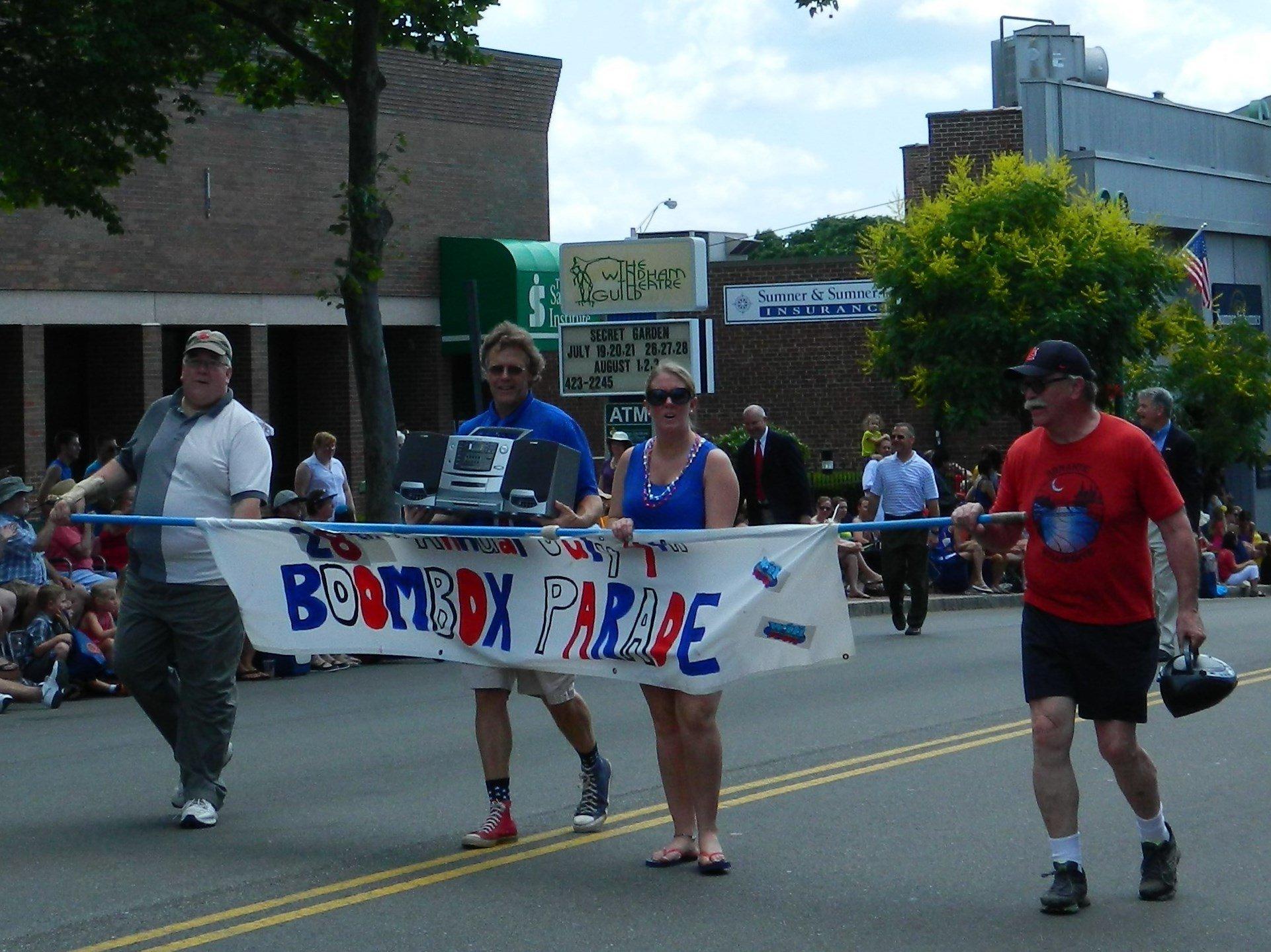 WILI boombox parade