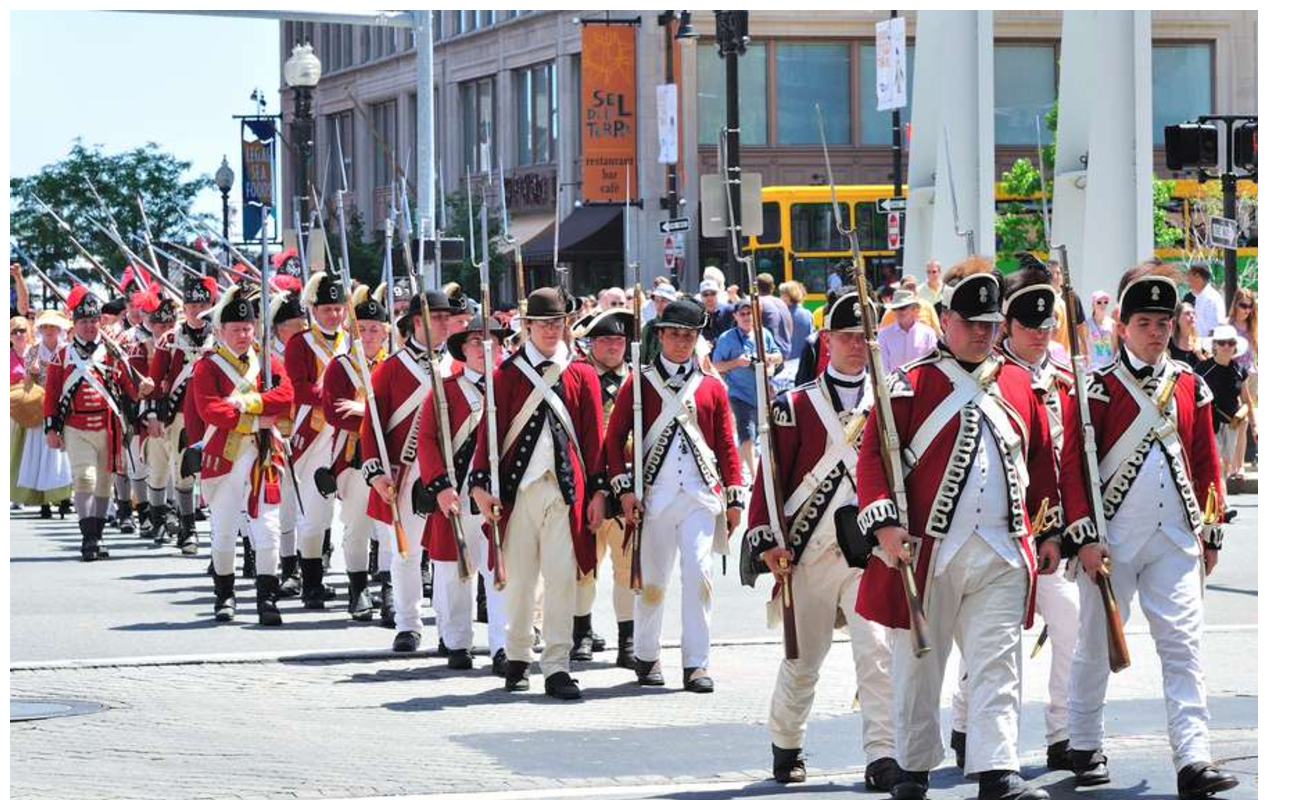 Boston Chowderfest parade