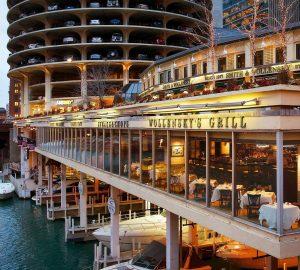 Chicago river side bar
