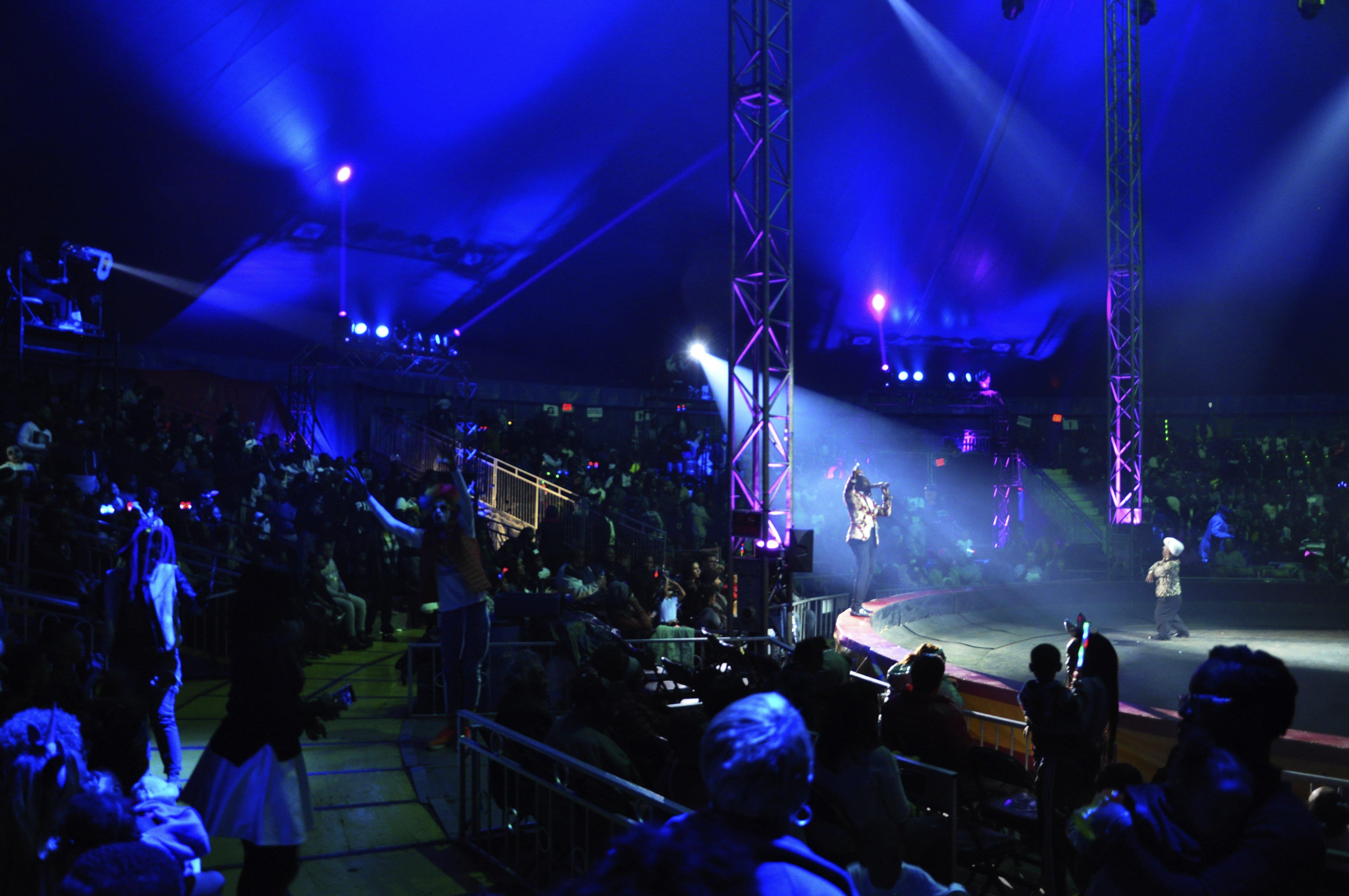 "Ringleader Daniel ""Lucky"" Malatsi kicking off UniverSoul Circus in style"